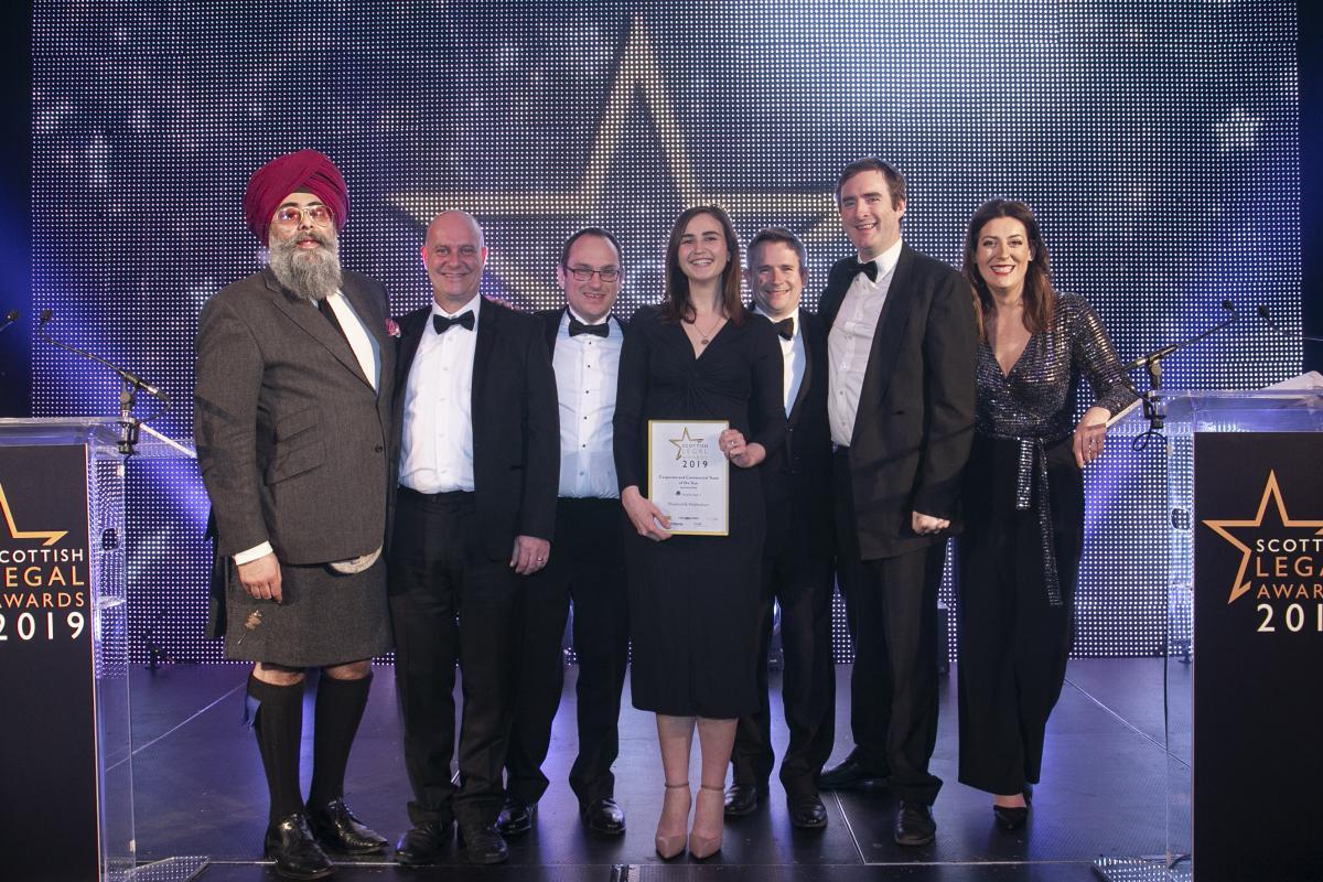 Photo Credit Gerardo Jaconelli for the Scottish Legal Awards
