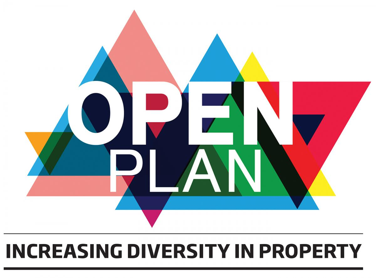 Open plan logo